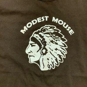 RARE Vintage Modest Mouse Indian Shirt